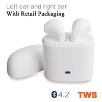 Dual Wireless Bluetooth Earbud Headset In-Ear Earphone for Apple iPhone X 8 7U S