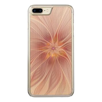 Soft Floral Summer Dream Abstract and Modern Art Carved iPhone 7 Plus Case