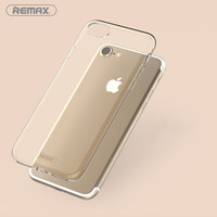 Remax For Apple iPhone 7 Case TPU Crystal Clear CaseTransparent Phone Cases Soft  Bumper back Covers For iPhone7 Plus