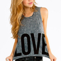 Faded Love Tank Top $23