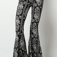 Lucky Duck Boho Bell Bottoms in Bandit