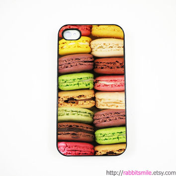 iPhone 5 Case, iPhone 4 case, iPhone 4s Cover , Hard Plastic iphone 5 Cover, cases -- macaron / macaroon