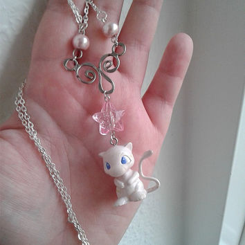 Pokémon Necklace - MEW - Figure necklace, Pokemon GO