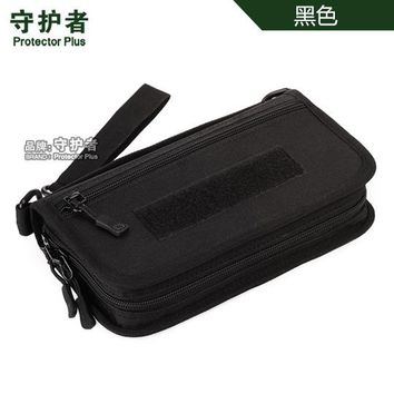 Sports gym bag Tactical MOLLE clutch wallet , Passport pack ,Camouflage Outdoor Sports hand bag A4439 KO_5_1