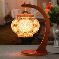 Antique Living Room Study Room Retro Vintage Table Lamp Old Fashion Ceramic Table Lamp