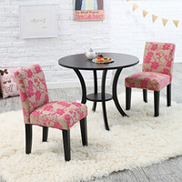 Plum Garden Pedestal Table and Chairs Set