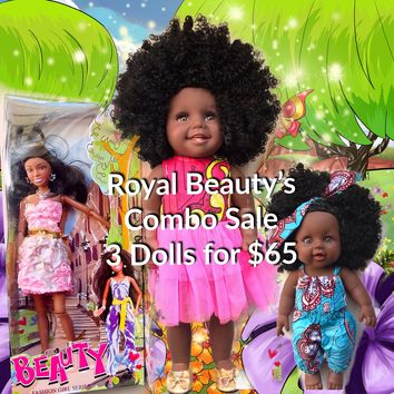 Royal Beauty's Doll Combo Sale and FREE Coloring Book