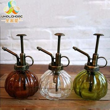 Vintage Glass Watering Cans /Zakka Gardening Water can Garden Decoration Watering Cans