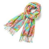 Murfee Scarf - Crystal Water Trippin And Sippin - Lilly Pulitzer