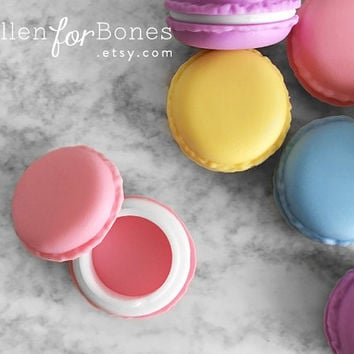 1pc ∙ Colorful Macaron Trinket Box Candy Themed Favor Box Sweet Pill Box Jewelry Packaging Supplies