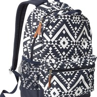 Old Navy Girls Patterned Backpacks Size One Size - Chambray print