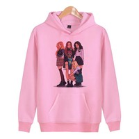 Blackpink The New Brand women Hoodies Sweatshirts Hip Hop women Hoodie Sweatshirt funny 2018 W4723