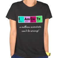 I Am CuTe (elements from periodic table)