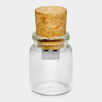 Message in a Bottle Flash Drive   MoMA