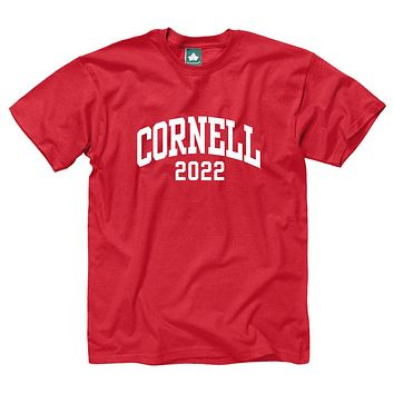 Cornell Class of 2022 T-Shirt (Red)