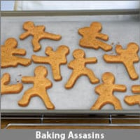 ThinkGeek :: Ninjabread Men Cookie Cutters