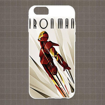 Ironman Fly iPhone 4/4S, 5/5S, 5C Series Hard Plastic Case