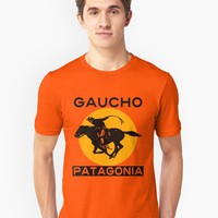 'GAUCHO, PATAGONIA' T-Shirt by IMPACTEES