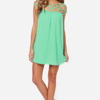 LULUS Exclusive All the Cage Mint Green Dress