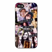 demi lovato art cases for iphone se 5 5s 5c 4 4s 6 6s plus