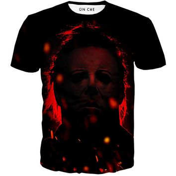 Michael Myers Red T-Shirt