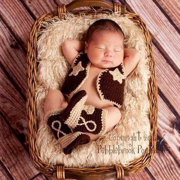 Cowboy Boots, Newborn Photo Prop, Cowboy Hat, Western Hat, Cowgirl Boots, Cowboy Party, Western Boots, Cowgirl Hat, Cowboy Baby Shower