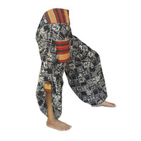 Hmong Pants / Hill Tribe Pants  / Harem Pants / Hippie Pants / Thai Pants Festival  Pants / Boho Clothing  #H02