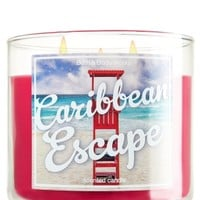 14.5 oz. 3-Wick Candle Caribbean Escape
