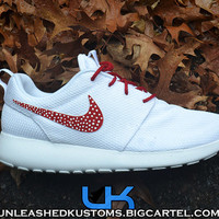 Custom Nike Roshe Run White