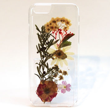 Ophelia iPhone 6 Dried Flower Phone Case