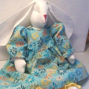 Stuffed Easter Bunny Rabbit Rag Doll Child Friendly