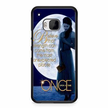 Once Upon A Time Belle Full Moon HTC M9 Case