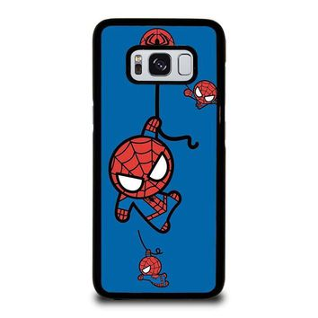 spiderman kawaii marvel avengers samsung galaxy s3 s4 s5 s6 s7 edge s8 plus note 3 4 5 8  number 2
