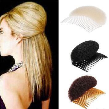Fashion 1PC Elegant Hair Styling Clip Plastic Stick Bun Maker Tool Hair Combs Hair Accessories For Women Girl's Hair conditioner