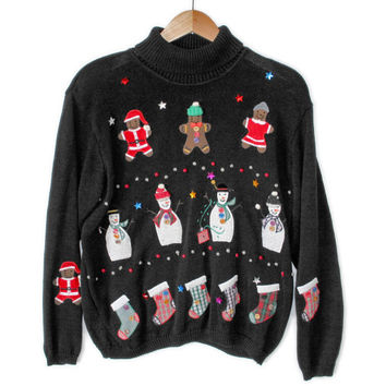 Holiday Mutation Tacky Ugly Christmas Sweater
