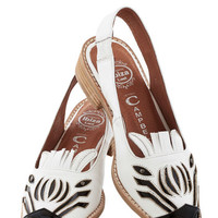 Jeffrey Campbell Quirky Zebra Fever Flat