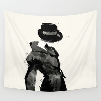 Form Wall Tapestry by Allison Reich