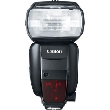Canon - Speedlite 600EX-RT External Flash - Black