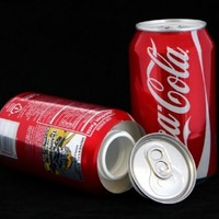 Coca Cola Stash Diversion Safe Can+Free Pack of 1 1/4 Rasta Wrap