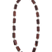 Patricia von Musulin Wooden Spy Link Necklace