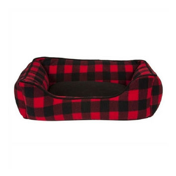 Cabin Blanket Kuddler Dog Bed