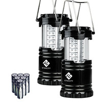 Etekcity 2 Pack Portable Outdoor LED Camping Lantern