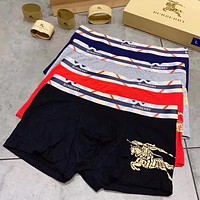 Burberry Men Briefs Shorts Underpants Male Cotton Underwear