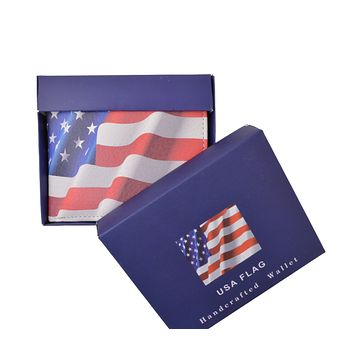 AFONiE USA Handcrafted Leather Bifold Wallet