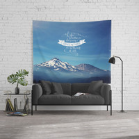 daring adventure Wall Tapestry by Sylvia Cook Photography