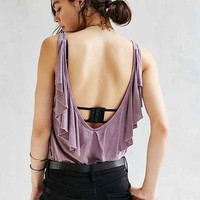 Truly Madly Deeply Flutter Tank Top