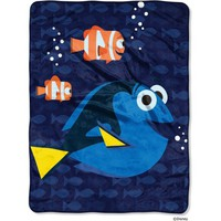 "Disney Finding Dory ""Bubbles in Water"" 46"" x 60"" Micro Raschel Throw - Walmart.com"