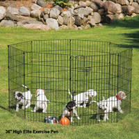 Cages, Crates & Kennels | Drs. Foster and Smith Elite Exercise Pen