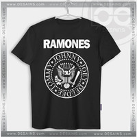 Buy Tshirt Ramones Band logo Custom Tshirt Womens Tshirt Mens