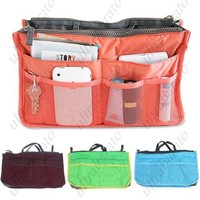 Multi-functional Bag Organzier Carrying Bag Storage Bag Pouch Holder with Double Zippers for Collecting Things from UltraBarato Gadgets